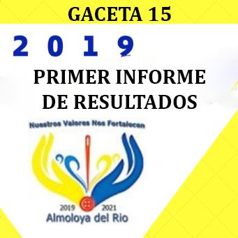 Primer Informe de Resultados 2019