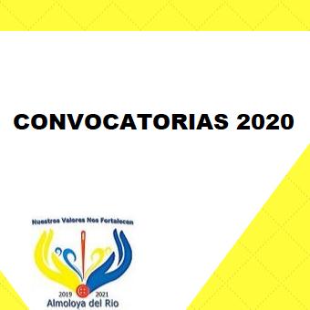 Convocatorias 2020