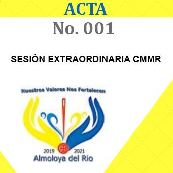 Acta 1 extraordinaria