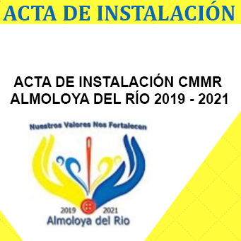 Acta de instalacion CMMR