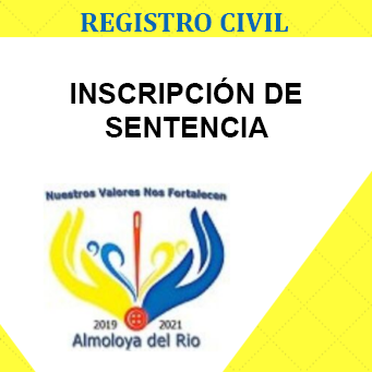 inscripcion de sentencia