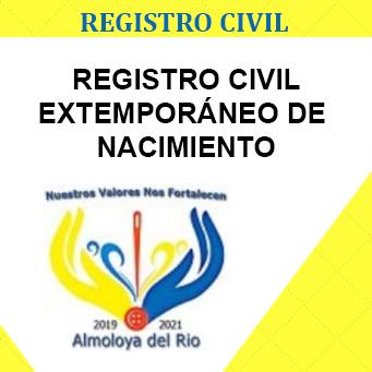 registro extemporaneo