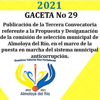 Gaceta 29